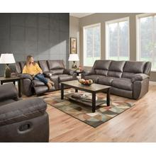 UNITED 50433PBRG Shiloh Granite Power Reclining Sofa, Power Reclining Console Loveseat & Power Cuddler Recliner Group