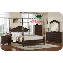Crown Mark B1500 Georgia Post Bedroom Set Houston Texas USA Aztec Furniture