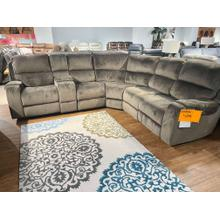 See Details - CLOSEOUT Reclining Sectional