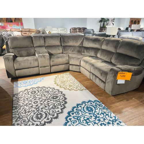 Pri - CLOSEOUT Reclining Sectional