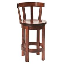 Barrel back stool