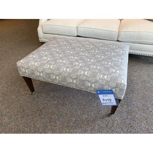 Accent Upholstered Ottoman