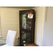 See Details - 13539 corner curio cabinet