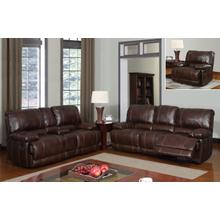 Brown 940 - Console Loveseat