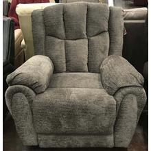 Grey Textured Rocker Recliner