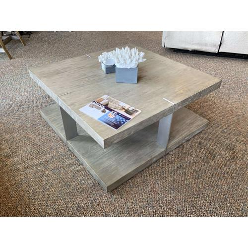 Coffee Table with Matching Side Table