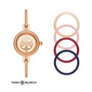 Tory Burch - TORY BURCH LADIES REVA GOLD-TONE BANGLE WATCH GIFT SET
