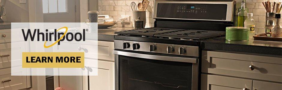 Whirlpool oven and range kitchen
