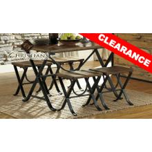 Freimore 5 Piece Table SET