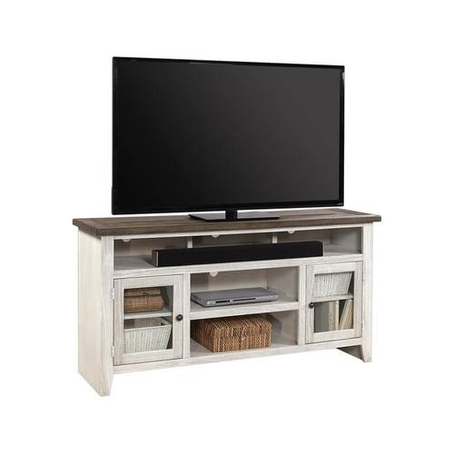 "65"" Console - Driftwood White"