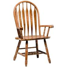 See Details - Colonial Windsor Arm Chair