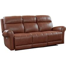 Everest Motion Sofa w/ Power in Hot Chocolate