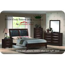 Crown Mark B4200 Emily Bedroom Set Houston Texas USA Aztec Furniture
