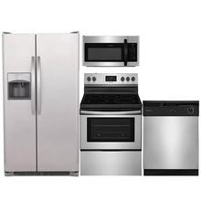 Frigidaire Stainless 4 Piece Kitchen