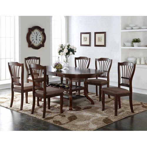 Bixby Espresso - Dining Table and Chairs