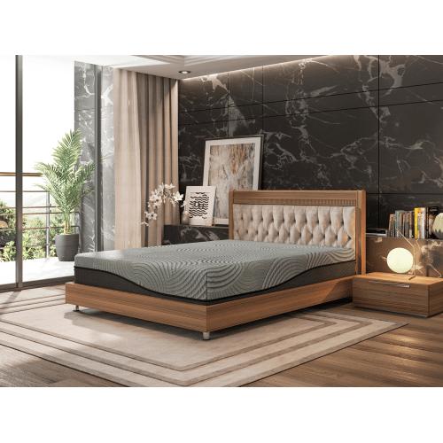 """Bedtech - Gel Max 12"""" memory foam mattress"""