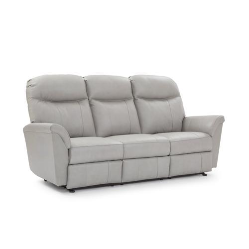 Caitlin Leather Reclining Sofa