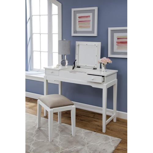 Deluxe Vanity Table - White