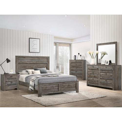 Crown Mark B6960 Bateson King Bedroom