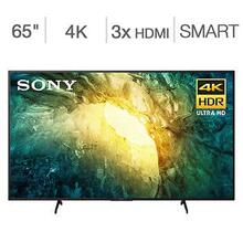 """See Details - SONY 55"""" Class 4K HDR LED TV"""