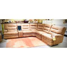 PERU 6 PC POWER RECLINING SECTIONAL     (WARE-PERU)