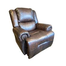 View Product - GENET Power Leather Recliner with Tilt Headrest #232556