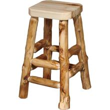 "30"" Log Barstool"