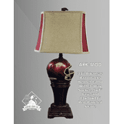 Arkansas Razorback Helmet Lamp Product Image