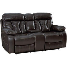 Peoria Reclining Loveseat with Center Console
