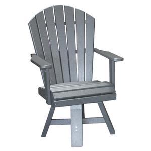 "20"" Classic Swivel Dining Chair"