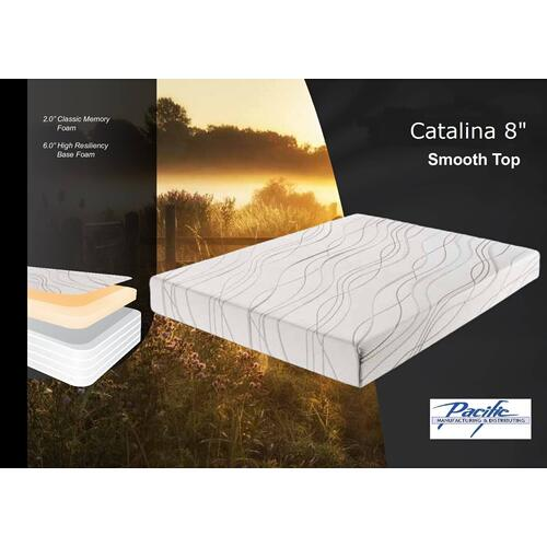 "Catalina 8"" Classic Memory Foam Mattress"