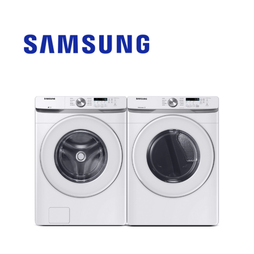 View Product - Samsung White Front Load Laundry Pair Package