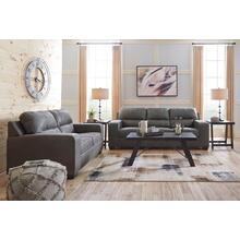 Narzole- Dark Gray Sofa and Loveseat