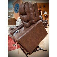 Astroglide Brown Medical Power Lift Recliner     (WARE-233-WALNUT,44980)