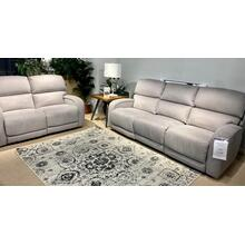 Waverly Nickel Power Reclining Sofa & Loveseat