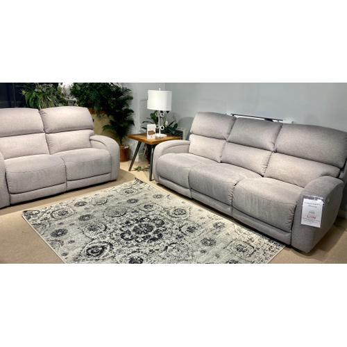 Waverly Nickel Power Reclining Sofa & Loveseat