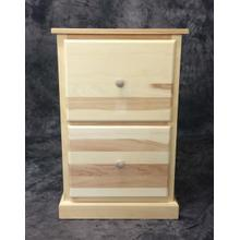 See Details - Maine Made 2 DR File Cabinet 20W X 30H X 22D Pine Unfinished