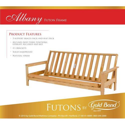 Gold Bond Mattress Company - Albany Futon Frame