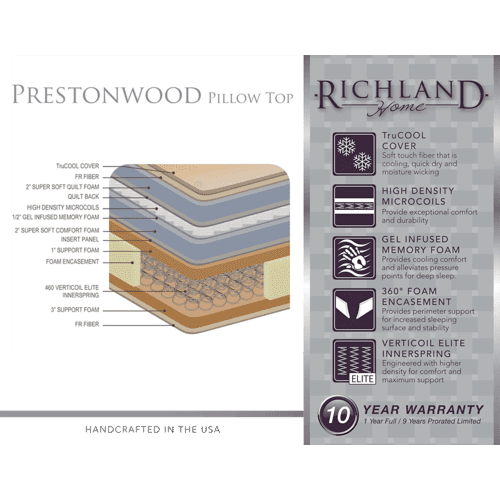 Gallery - Prestonwood - Pillow Top