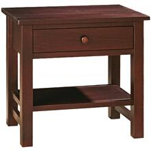 Cabin Creek Collection- One Drawer Nightstand