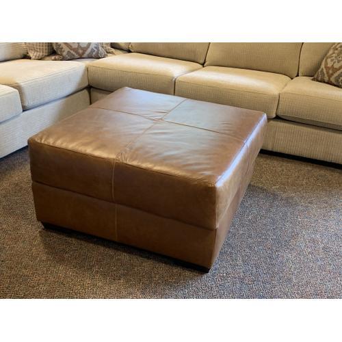 Mayo Furniture - Bermuda Desert Camel Storage Ottoman