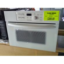 See Details - FLOOR MODEL 24 in. Built-In Microwave Oven Includes 27 in. & 30 in. Trim Kits(White)