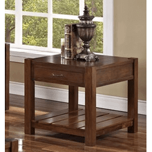 GIVERNY END TABLE IN AFRICAN HONEY  (30-707-20H,58172)