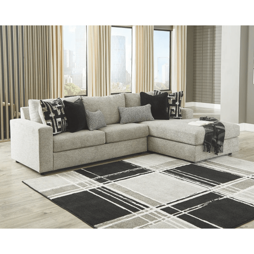 Ravenstone - Flint - 2-Piece Sectional with Right Facing Chaise