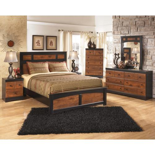 Aimwell - Queen Panel Bed, Dresser, Mirror, & 1 X Nightstand