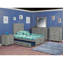 Urban Ranch Panel Bed Gray