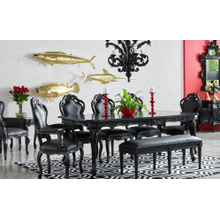 Onix Black Dining Table
