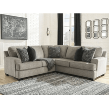 Bovarian - Stone - 2-Piece Sectional