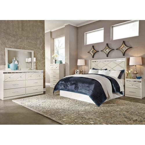 Dreamur - Champagne 4 Piece Bedroom Set