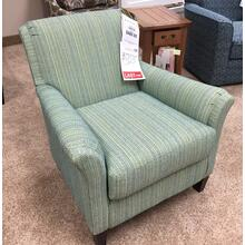 Club Chair (Carson) Color: Peacock